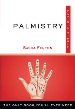 Palmistrys plain & simple by Sasha Fenton - Wiccan Place