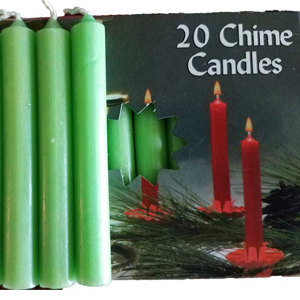 Apple Green Chime Candle 20 pack - Wiccan Place