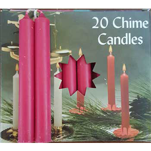 Pomegranate Chime candle 20 pack - Wiccan Place