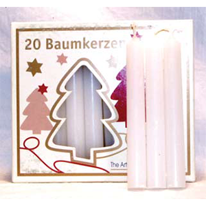 White Chime Candle 20 pack