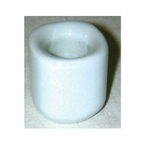 White Ceramic chime holder - Wiccan Place