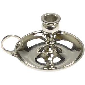 Nickel chime candle holder - Wiccan Place
