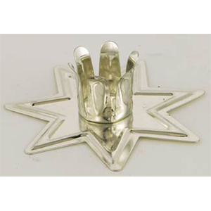 Silver Fairy Star Chime candle holder - Wiccan Place