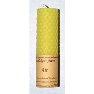 Air Lailokens Awen candle 4 1/4
