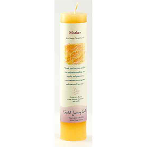 Mother Reiki Charged Pillar Candle