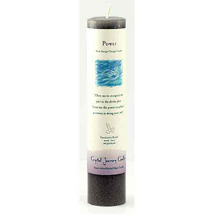 Power Reiki Charged Pillar Candle - Wiccan Place