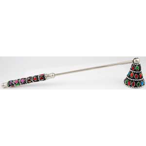 Multi-Color Jeweled snuffer - Wiccan Place
