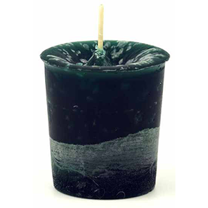 Green Forest Votive candle - Wiccan Place