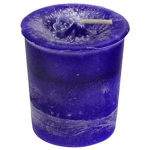 Third Eye Chakra votive candle - Wiccan Place