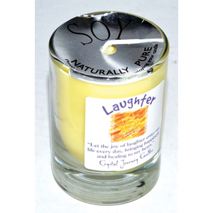 Laughter soy votive candle - Wiccan Place