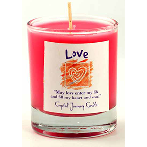 Love soy votive candle - Wiccan Place