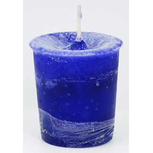 Creativity Herbal votive - purple - Wiccan Place