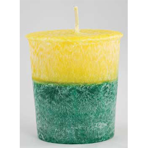 Patchouli Amber Palm Oil Votive Candle - Wiccan Place