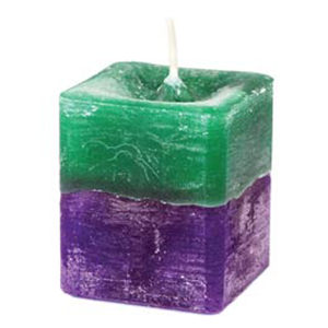 Stress Relief Square Votive Candle - Wiccan Place