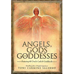 Angels, Gods, & Goddesses Oracle (deck & book) by Toni Carmine Salerno - Wiccan Place