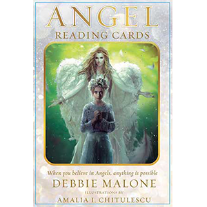Angel Reading Cards deck & book by Debbie Malone - Wiccan Place