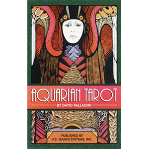 Aquarian tarot deck by Palladini, David - Wiccan Place