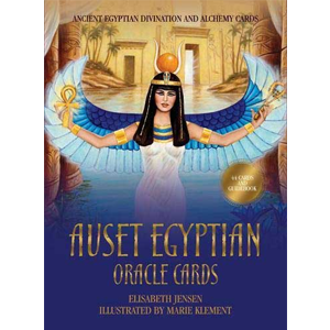 Auset Egyptian oracle cards by Jensen & Klement - Wiccan Place