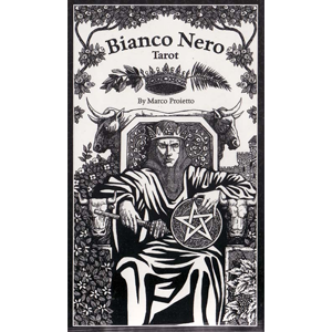 Bianco Nero Tarot deck by Marco Proirtto - Wiccan Place