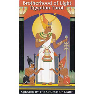 Brotherhood of Light Egyptian tarot deck by Church of Light - Wiccan Place