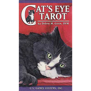 Cat's Eye Tarot Deck by Debra Givin - Wiccan Place