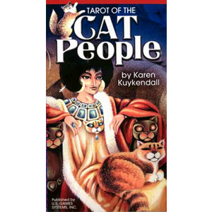 Cat People tarot deck by Karen Kuykendall - Wiccan Place