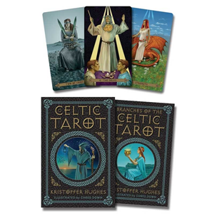 Celtic tarot deck & book by Hughes & Down - Wiccan Place