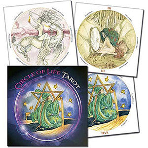 Circle of Life tarot (round) by Maria Distefano - Wiccan Place