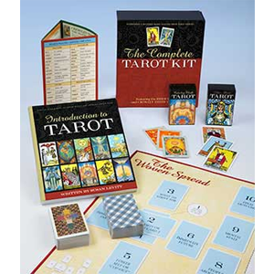 Complete Tarot Kit deck & book by Susan Levitt - Wiccan Place