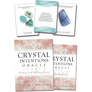 Crystal Intentions oracle by Margaret Ann Lembo - Wiccan Place