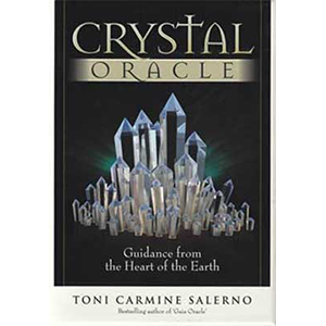 Crystal oracle deck & book by Toni Carmine Salerno - Wiccan Place