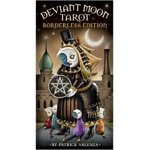 Deviant Moon (borderless) tarot deck by Patrick Valenza