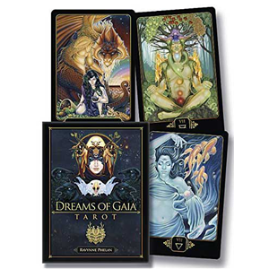 Dreams of Gaia Tarot deck & book by Ravynne Phelan - Wiccan Place