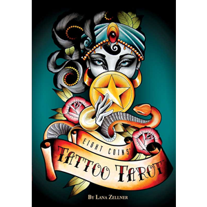 Eight Coins Tattoo tarot by Lana Zellner - Wiccan Place