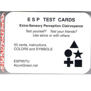 ESP Test Cards (50 Cards) - Wiccan Place