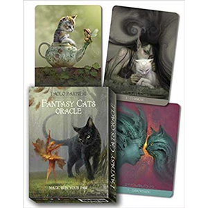 Fantasy Cats oracle by Paolo Barbieri - Wiccan Place