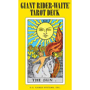 Giant Rider-Waite Tarot by Pamela Colman Smith - Wiccan Place