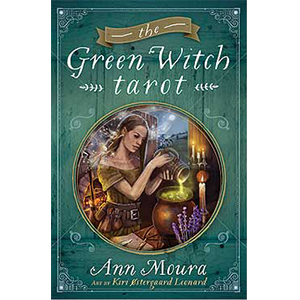 Green Witch tarot deck & book by Ann Moura - Wiccan Place