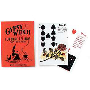 Gypsy Witch Fortune Telling Playing Card by Mlle Lenormand (attributed) - Wiccan Place