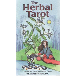 Herbal tarot deck by Tierra & Cantin