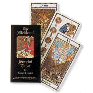 Medieval Scapini tarot deck by Scapini & Luigi