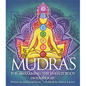 Mudras for awakening the Energy Body deck & book by Denicola & Espinet - Wiccan Place