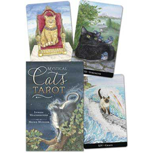Mystic Cats tarot (book and deck) by Weatherstone & Muller - Wiccan Place