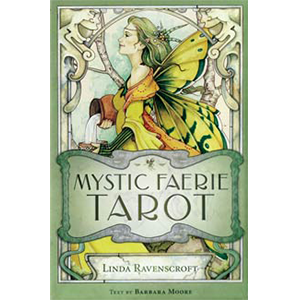 Mystic Faerie (book and deck) by Ravenscroft & Moore - Wiccan Place