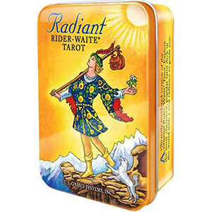 Radiant Rider-Waite tin - Wiccan Place
