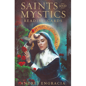 Saints & Mystics reading cards by Andres Engracia - Wiccan Place