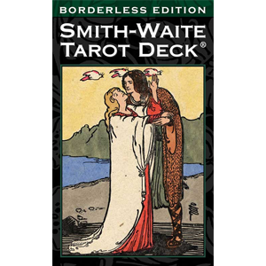 Smith-Waite Borderless tarot deck by Pamela Colman Smith - Wiccan Place