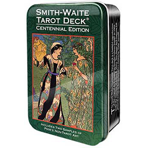 Smith-Waite Centennial Tarot Deck (Decorative Tin) - Wiccan Place
