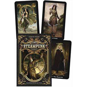 Steampunk Tarot Deck & Book by Barbara Moore - Wiccan Place