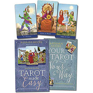 Tarot Made Easy (deck and book) by Barbara Moore - Wiccan Place